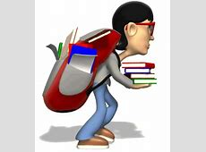 Loading clipart heavy backpack - Pencil and in color ... Happy Valentines Day Clip Art Children
