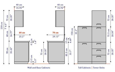What Is The Standard Height Of Kitchen Cabinets by Kitchen Cabinets Dimensions And Standard Kitchen Cabinets