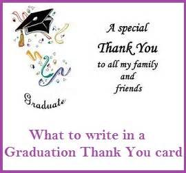 thank you messages graduation