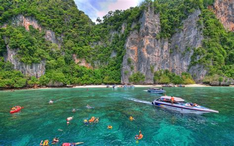 beautiful places to visit phi phi islands thailand beautiful places to