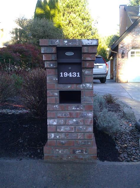 lake oswego brick mailbox