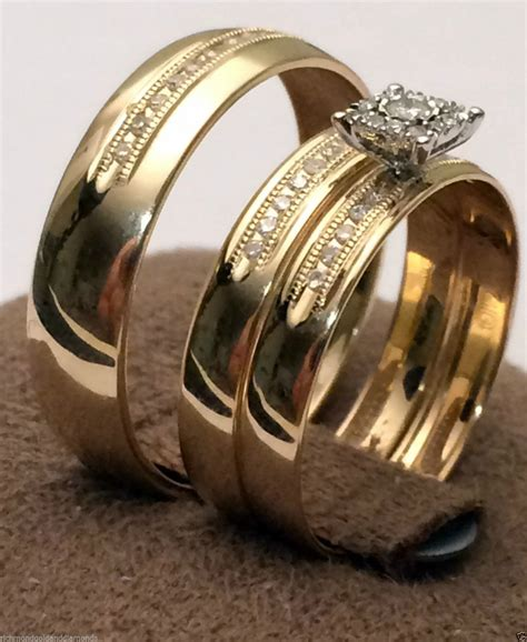 Wedding Rings For by Cheap Wedding Rings Sets For Him And
