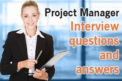 project manager questions and answers hr