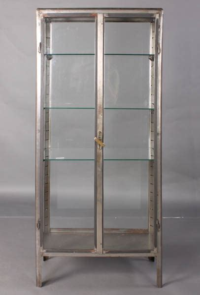 Vintage Metal Vitrine   Recycling the Past   Architectural