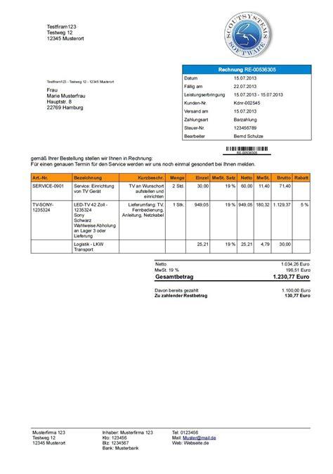 Rechnung Inhalt Kleinunternehmer Programm Zum Rechnungen Schreiben Rechnung Erstellen