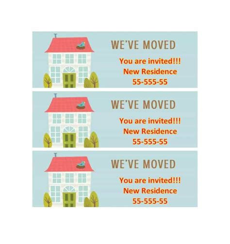 housewarming invitations template 40 free printable housewarming invitation templates