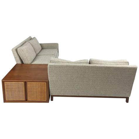 henredon sectional sofa danish modern henredon sectional sofa with corner storage