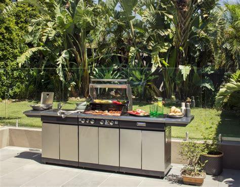 outdoor bbq kitchen cabinets new gasmate nero 430 grade stainless steel 5 burner bbq