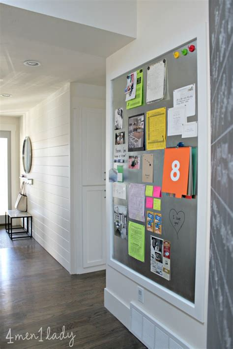 home design message board entryway via 4 men 1 lady great blog of useful home organizing and decor information love this