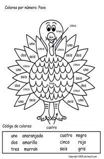 printable thanksgiving cards in spanish 24 best spanish class thanksgiving fall images on