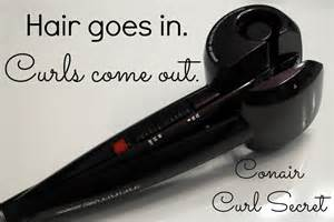 Curl Secret Infiniti Pro Conair Easy Curls With The Conair Curl Secret As The