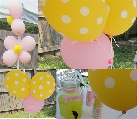 Pink And Yellow Birthday Decorations by Simplyiced Details Princess Pink And Yellow