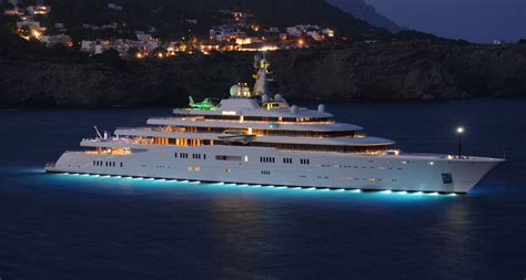 eclipse on a boat the top 5 largest private yachts in the world