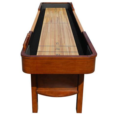 9 shuffleboard table 9 merlot shuffleboard table shuffleboard