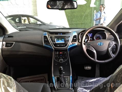 2015 Hyundai Elantra interior for India Indian Autos blog