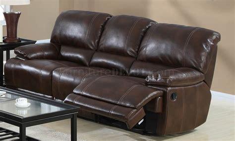 wine bonded leather modern sofa loveseat set w options