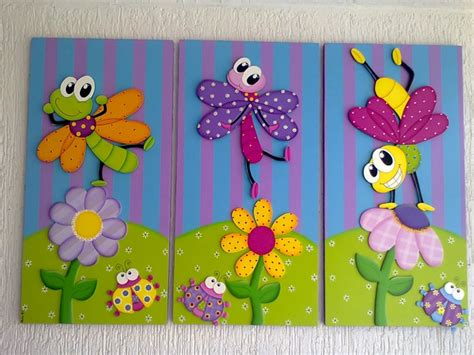cuadro con goma eva decoracin de cuadro con goma eva cuadros infantiles