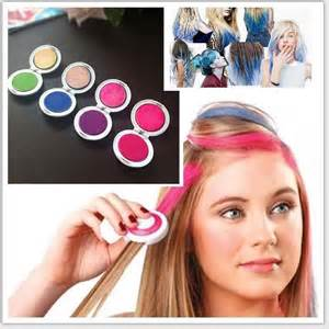 temporary hair color diy huez hues hair chalk set temporary hair non toxic diy