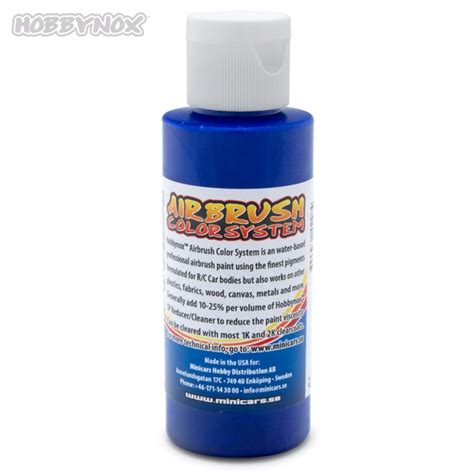 Toner Hn Besar 60ml Rc airbrush color transparent blue 60ml