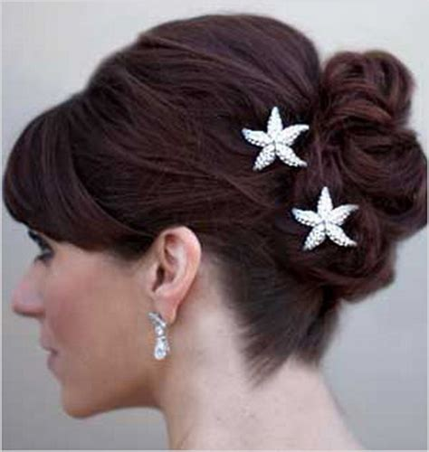 starfish hair accessories by hair comes the bride beach wedding hair accessories