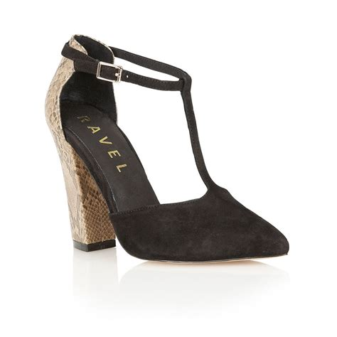 ravel shoes buy ravel albany court shoes in black snake
