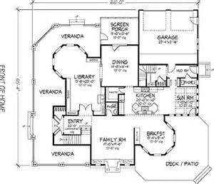 Victorian Style Floor Plans Victorian Style House Plan 5 Beds 5 50 Baths 4898 Sq Ft
