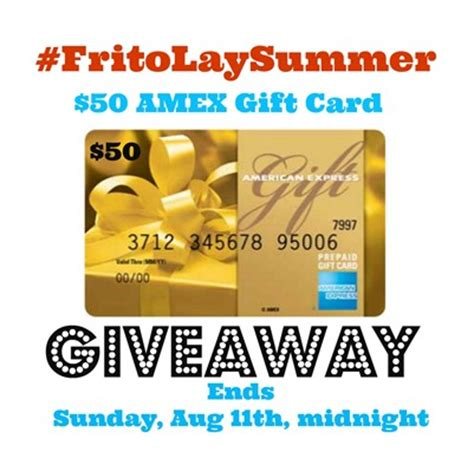 Combine Amex Gift Cards - black bean corn bites and a 50 amex gift card fritolaysummer in the kitchen with kp