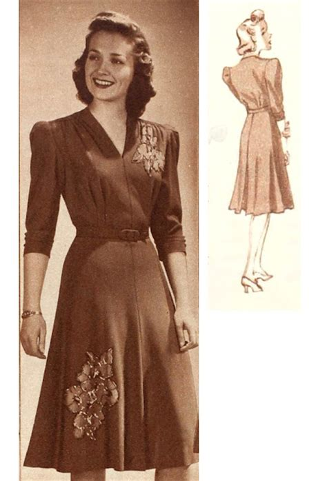 1940 suits exles of early 40s wartime fashion