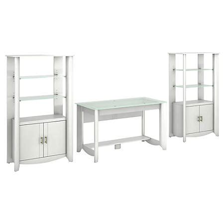 bush furniture aero writing desk bush furniture aero writing desk and set of 2 library