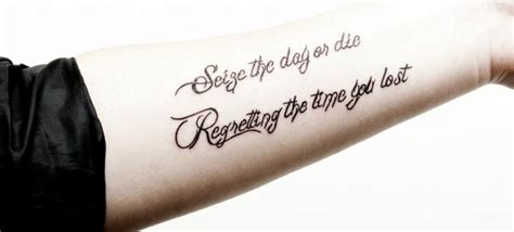seize the day tattoo avenged sevenfold quotes tattoos quotesgram