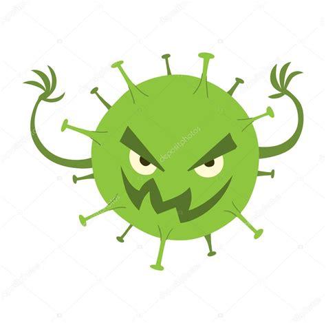 imagenes goticas viros dibujos animados personajes de virus vector conjunto