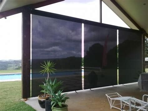 Custom Patio Blinds by Dennys Upholstery Outdoor Blinds In South Lismore Nsw