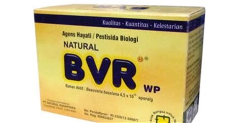 bvr produk organik agens hayati nasa portal organik nasa