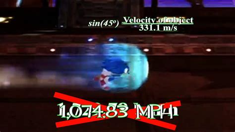 how fast is a science episode 1 how fast can sonic run