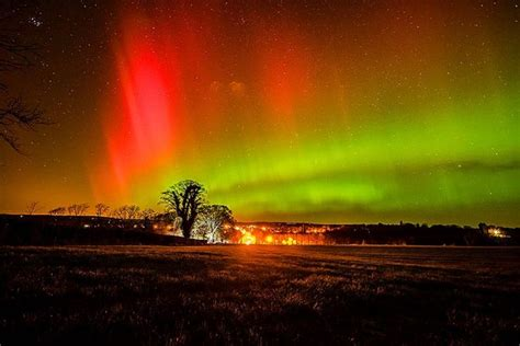 where are the northern lights visible northern lights visible across much of uk tonight but