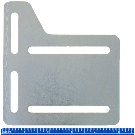 5 quot bed rail frame headboard modification adapter plate