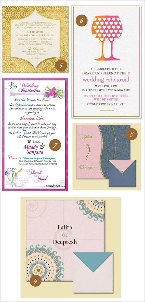 10 fabulous online wedding invitation templates that you