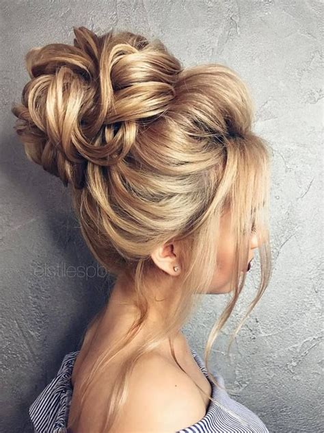 Wedding Hairstyles For Buns by Wedding Hairstyles For Hair Buns Best 25 Wedding Bun
