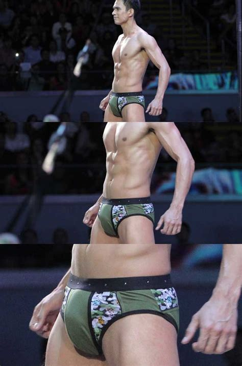 Bench Underwear For Men The Best Bulges At The 2014 Bench Nakedtruth Show Cosmo Ph