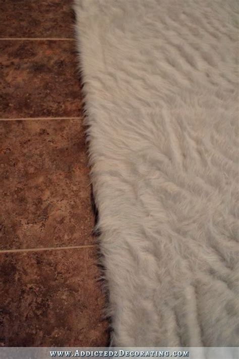 Diy Faux Fur Rug by Diy Faux Fur Rug How To A Flokati