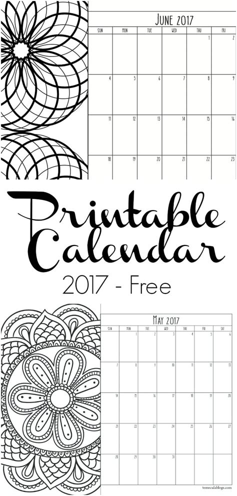printable calendar pages 2017 2016 2017 calendar printable one page calendar template 2016