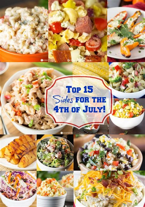top 15 sides for the 4th of july