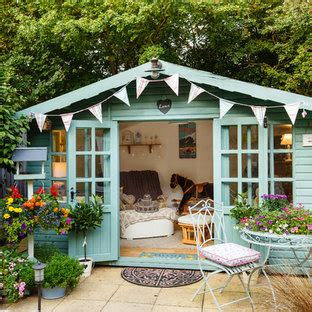 popular shabby chic style shed design ideas