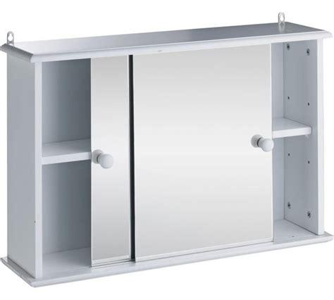 White Sliding Door Cabinet Buy Home Sliding Door Bathroom Cabinet White At Argos Co Uk Your Shop For Bathroom