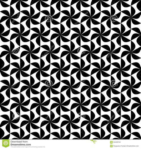 white pattern background vector black and white geometric seamless pattern abstract