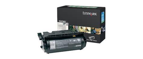 Tinta T644 Black tienda lexmark impresoras y consumibles lexmark 12a7465