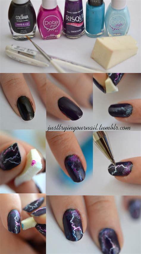 lipstick nail art tutorial 20 step by step halloween nail art design tutorials 2017