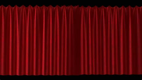 the end curtains the end large velvet curtains close showing the words