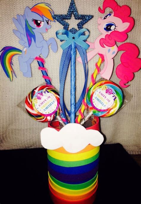 pony centerpiece decorations supplies