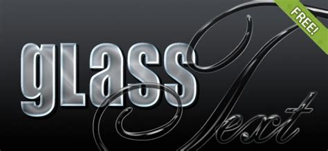 glass logo design photoshop 4 free glass photoshop estilos descargar psd gratis